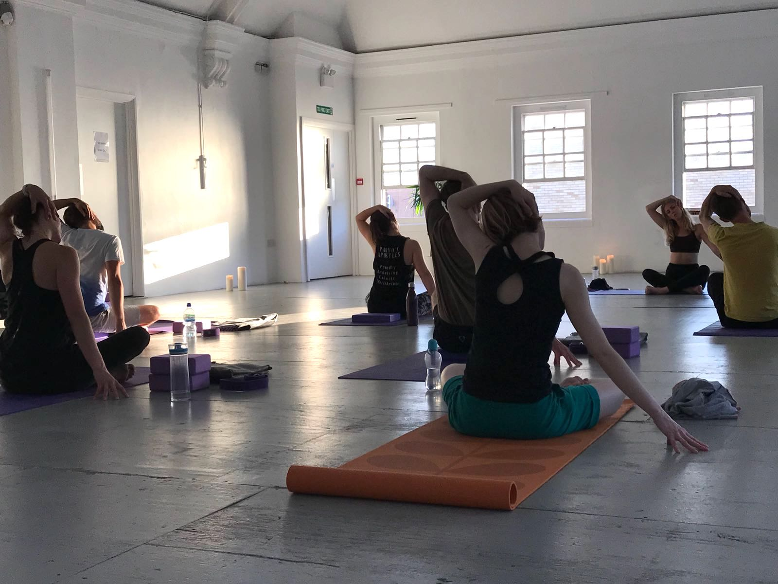 Yoga Class at Core Clapton