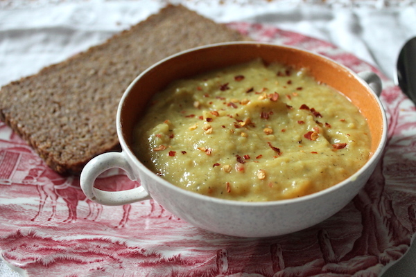 Honey Spiced Parsnip Soup